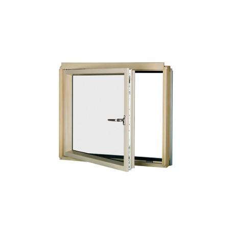 BDL P2 - BDR P2 - Colore Naturale - Finestra ad angolo con apertura laterale